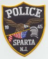 Sparta Police patch
