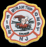 Byram Township Fire Department Patch