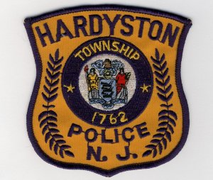 Hardyston Police patch
