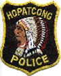 Hopatcong Police patch